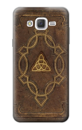 Printed Spell Book Cover Samsung Galaxy J7 Case