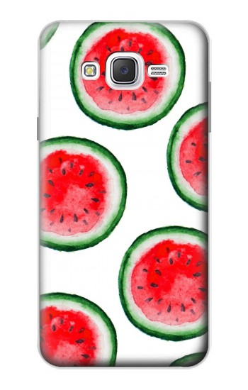 Printed Watermelon Pattern Samsung Galaxy J7 Case