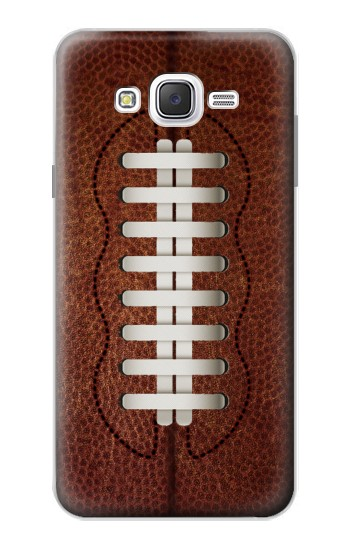 Printed Leather Vintage Football Samsung Galaxy J7 Case