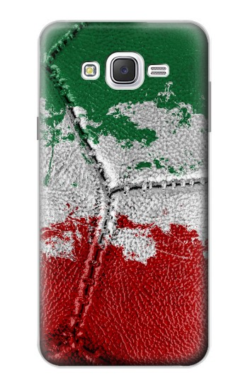 Printed Italy Flag Vintage Football 2018 Samsung Galaxy J7 Case