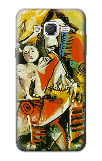 Printed Picasso Painting Cubism Samsung Galaxy J7 Case