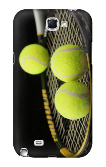 Printed Tennis Samsung Note 2 Case