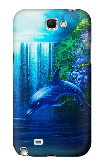 Printed Dolphin Samsung Note 2 Case
