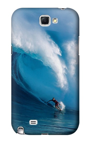 Printed Hawaii Surf Samsung Note 2 Case