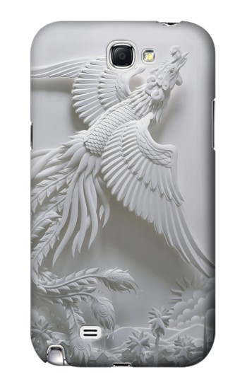 Printed Phoenix Carving Samsung Note 2 Case