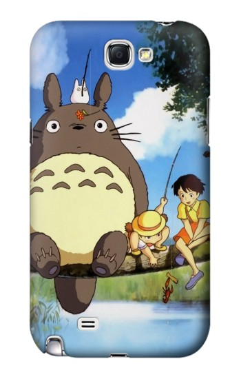 Printed Totoro and Friends Samsung Note 2 Case