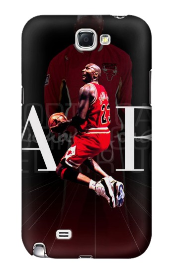 Printed Basketball Air Jordan Samsung Note 2 Case