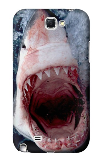 Printed Jaws Shark Mouth Samsung Note 2 Case