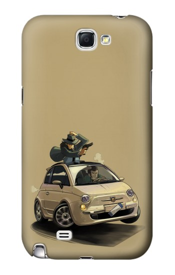 Printed Lupin The Third Samsung Note 2 Case