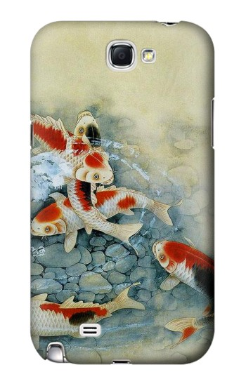 Printed Koi Carp Fish Art Painting Samsung Note 2 Case