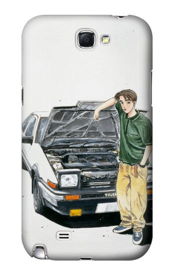 Printed Initial D Takumi Samsung Note 2 Case