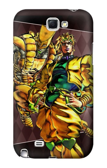 Printed Jojo Bizarre Adventure Dio Brando The World Samsung Note 2 Case
