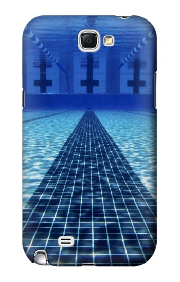 Printed Swimming Pool Samsung Note 2 Case