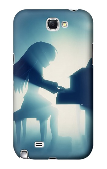 Printed Japan Anime Angel Beats Samsung Note 2 Case