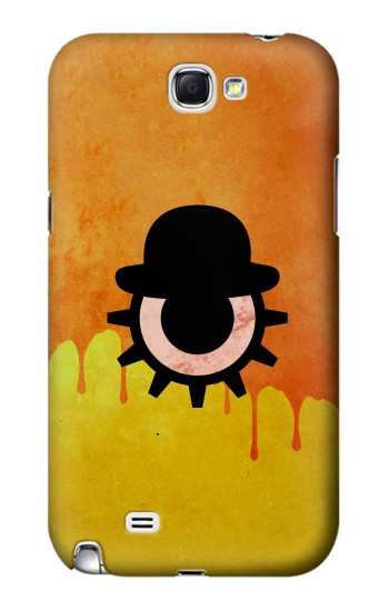 Printed Clockwork Orange Blood Dripping Samsung Note 2 Case