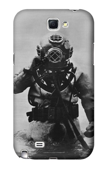 Printed Old Diving Suit Samsung Note 2 Case