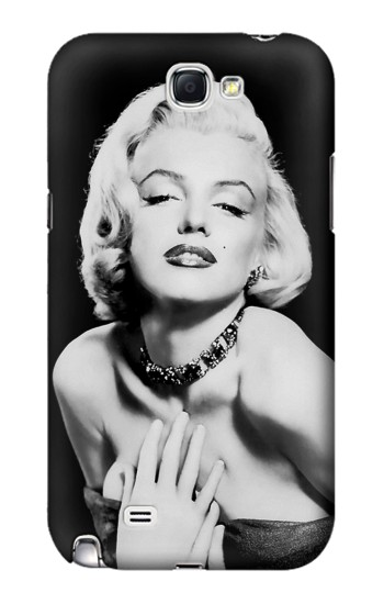 Printed Marilyn Monroe Icon Samsung Note 2 Case