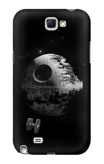 Printed Star Aircraft Planet Samsung Note 2 Case