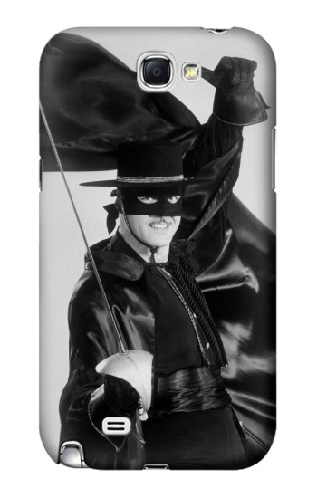 Printed The Mark Of Zorro Samsung Note 2 Case