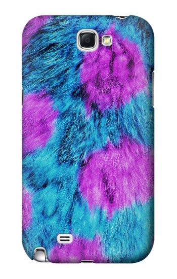 Printed Fur Skin Monster Samsung Note 2 Case