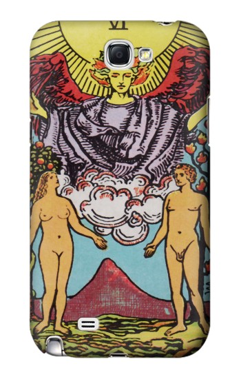 Printed Lovers Tarot Card Samsung Note 2 Case