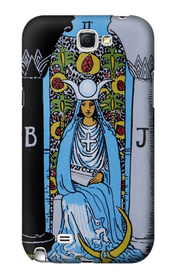 Printed High Priestess Tarot Card Samsung Note 2 Case