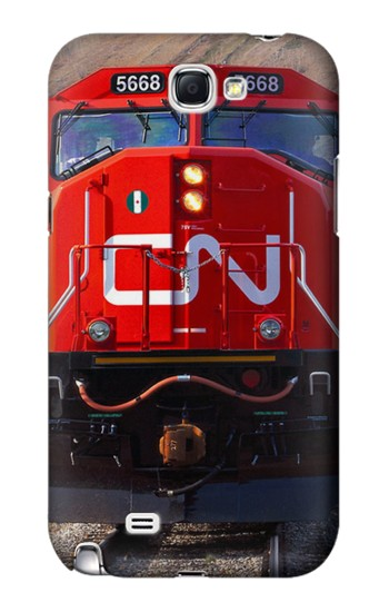 Printed Train Canadian National Railway Samsung Note 2 Case