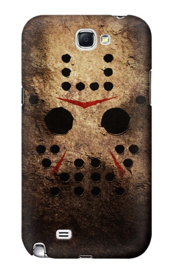Printed Jason Hockey Mask Samsung Note 2 Case