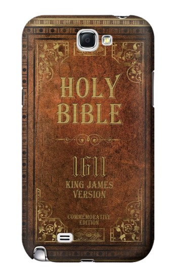 Printed Holy Bible 1611 King James Version Samsung Note 2 Case