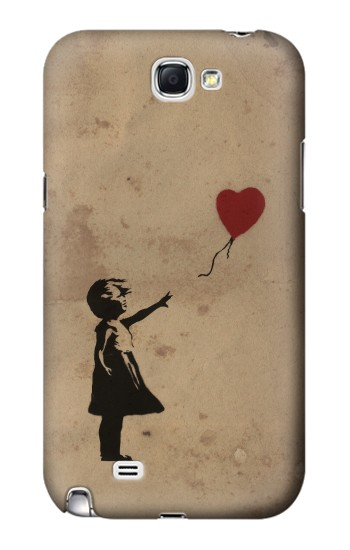Printed Girl Heart Out of Reach Samsung Note 2 Case