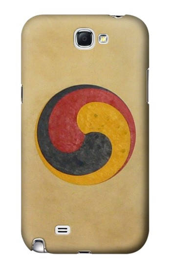 Printed Korean Traditional Drum Samsung Note 2 Case