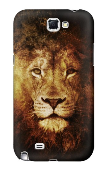 Printed Lion Samsung Note 2 Case
