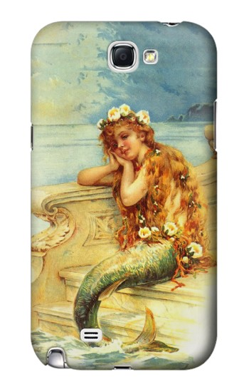 Printed Little Mermaid Painting Samsung Note 2 Case