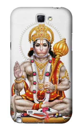 Printed Lord Hanuman Chalisa Hindi Hindu Samsung Note 2 Case