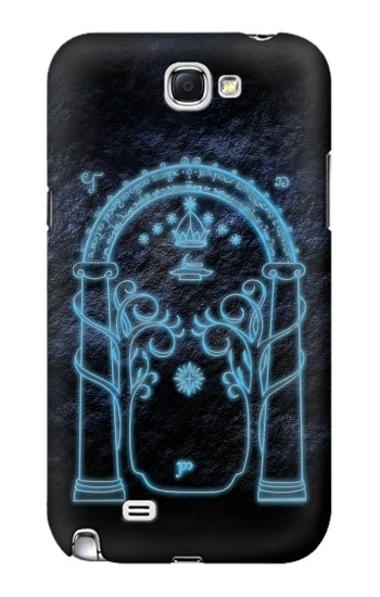 Printed Lord of The Rings Mines of Moria Gate Samsung Note 2 Case