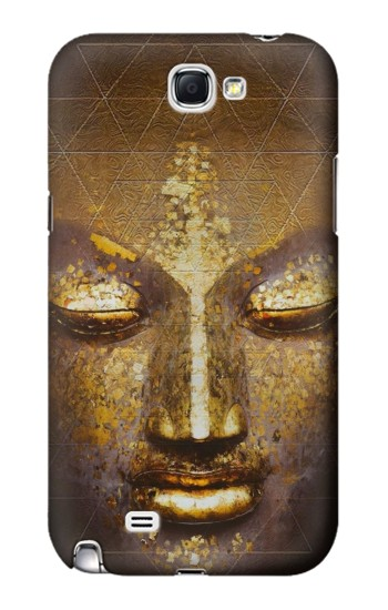 Printed Magical Yantra Buddha Face Samsung Note 2 Case