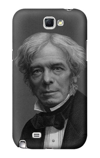 Printed Michael Faraday Samsung Note 2 Case