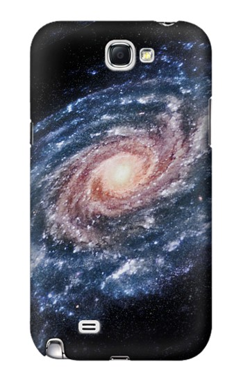 Printed Milky Way Galaxy Samsung Note 2 Case