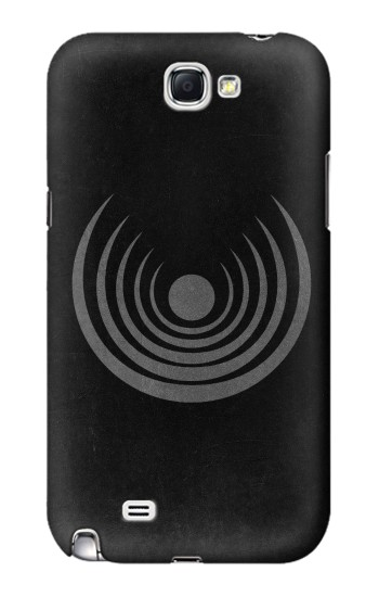 Printed Moon Luna Symbol Samsung Note 2 Case
