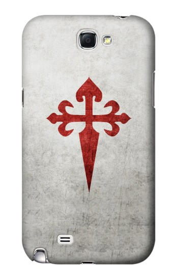 Printed Order of Santiago Cross of Saint James Samsung Note 2 Case