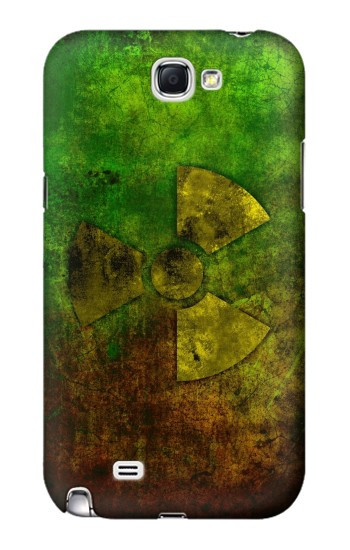 Printed Radioactive Symbol Samsung Note 2 Case