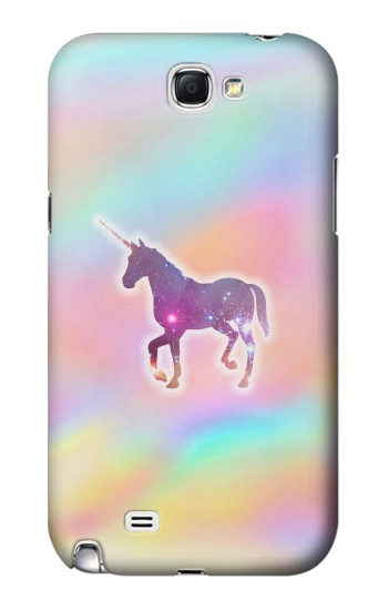Printed Rainbow Unicorn Samsung Note 2 Case