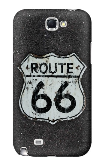 Printed Route 66 Sign Samsung Note 2 Case
