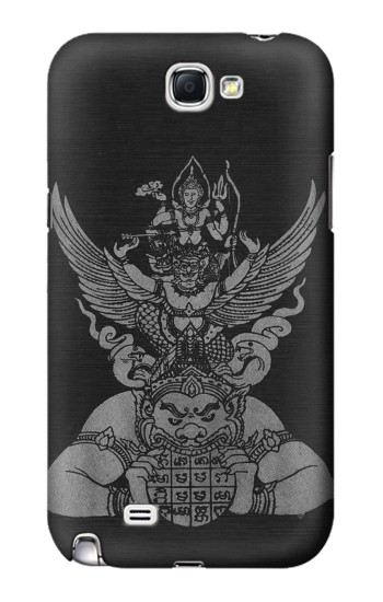 Printed Sak Yant Rama Tattoo Samsung Note 2 Case