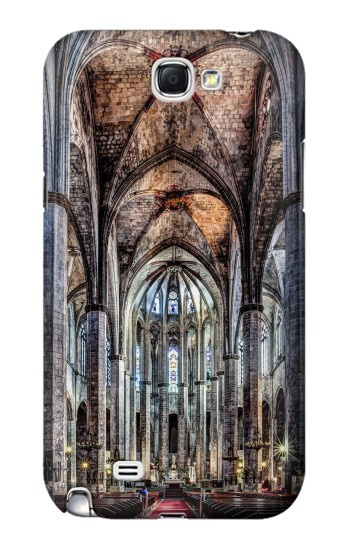 Printed Santa Maria Del Mar Cathedral Samsung Note 2 Case