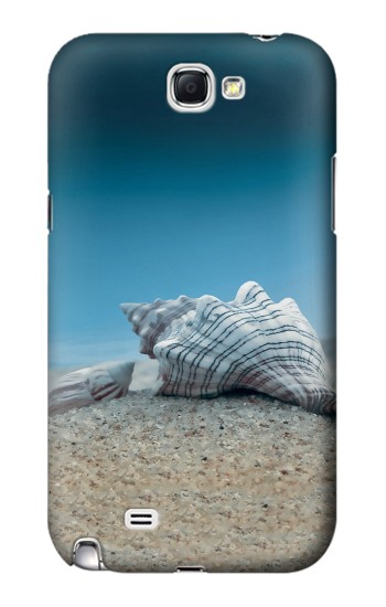 Printed Sea Shells Under the Sea Samsung Note 2 Case