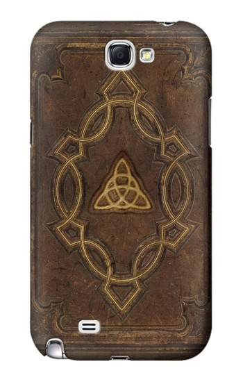 Printed Spell Book Cover Samsung Note 2 Case
