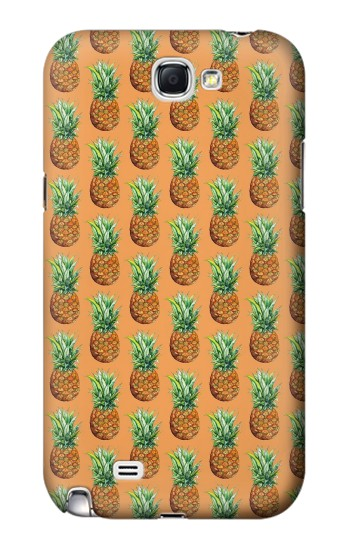 Printed Pineapple Pattern Samsung Note 2 Case