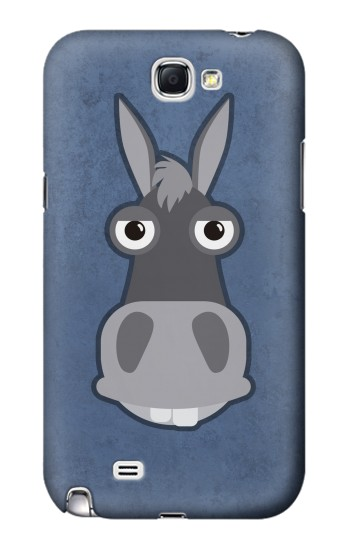 Printed Donkey Cartoon Samsung Note 2 Case