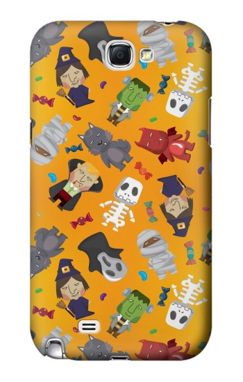 Printed Cute Halloween Cartoon Pattern Samsung Note 2 Case
